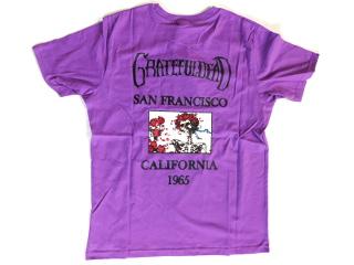 GREATFULDEAD Tシャツ 紫