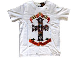 APPETITE FOR DESTRUCTION T-shirt white