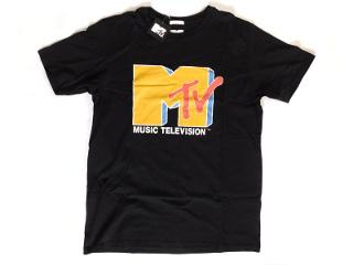 MTVのTシャツ ブラック