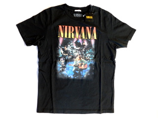 NIRVANA UNPLUGGED Tshirt BLACK