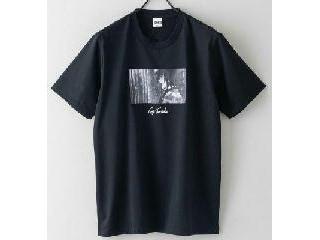 富岡義勇のTシャツ 黒