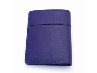 コンパクトな財布 ブルー