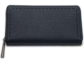 黒 革 財布