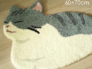 かわいい猫 マット